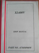HONDA XL600V DEALER ONLY SHOP MANUAL NEVER AVAILABLE TO THE GENERAL PUBLIC