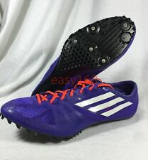 New Adidas Adizero Prime SP Sz 12 Mens B41015 Spikes Track Field Sprint Shoes