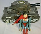 Circa 1958 Tin Linemar Superman with Tank Battery-Operated Toy
