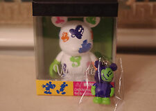 New Disney Vinylmation 3'' Oh Mickey White Color Faces Includes Mystery Junior