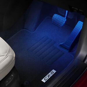Genuine Mazda 2 3 6 CX3 CX5 CX9 CX30 Footwell Welcome Illumination Kit MZDAACWEL