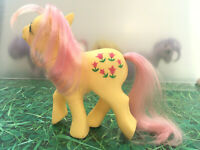 My Little Pony G1 Posey Dark Tulips Vintage Toy Hasbro 1984 Collectibles MLP *
