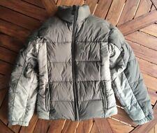 BURTON AK LAVA III DOWN Snowboard SKI Puffer Jacket Mens Small Pit Zips Grey