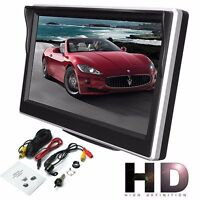 12.7cm 800 480 TFT LCD Pantalla HD pantalla para coche Trasero Marcha atrás