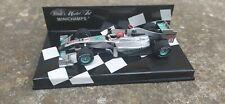 1:43 Minichamps F1 Mercedes Petronas Michael Schumacher Showcar 2010
