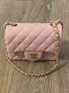 Chanel Mini Flap Bag Pink Fashion