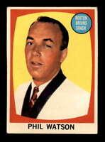 1961 Topps #1 Phil Watson CO ! EX X1502154