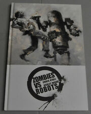 ZOMBIES VS. ROBOTS HARDCOVER NM-MINT ASHLEY WOOD OUT OF PRINT!