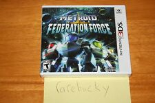 Metroid Prime: Federation Force (Nintendo 3DS) NEW SEALED Y-FOLD, MINT!