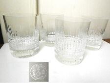 Baccarat Crystal NANCY Old Fashioned Glasses, Set of 4