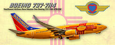 Southwest Airlines Boeing 737 New Mexico Colors Photo Magnet (PMT1624)