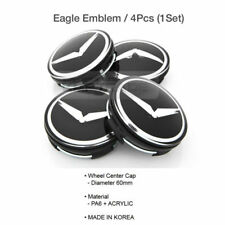 Eagle Emblem Wheel Center Cap 4EA for HYUNDAI 2013-2017 Genesis Coupe