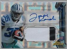 2013 Topps Finest Prism Refractor Joseph Randle Auto 2 Color Patch Rc # to 15