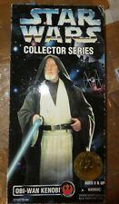 Star Wars OBI Wan Kenobi (l2) 12 Inch Figure 1996 Kenner Collector Series Boxed