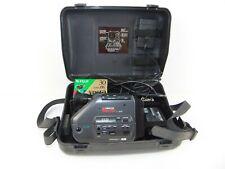 Minolta Master C-606 Full Auto Cam Corder Yu30407G with case & Fuji Hg Cassette