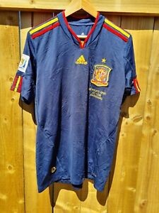 Spain Ramos Away Football Shirt 2010/11 Adults Medium Adidas