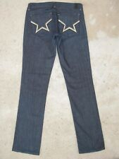 Peoples Liberation Reese Skinny Jeans Sz 25 Gold Star Pocs Sz 27 Fit