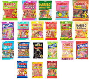1 X BAG OF HARIBO SWEETS VARIOUS FAVOURS TREATS WEDDING maoam CHRISTMAS KIDS