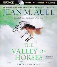 Jean M. AUEL / (Earth's Children Bk 2)  The VALLEY of HORSES   [ Audiobook ]