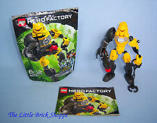 RARE LEGO HERO FACTORY 6200 Evo-complet avec instructions et emballage