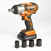 """Mondis 20V 1/2"""" Cordless Impact Wrench - Lithium Snap On style Rattle Gun"""