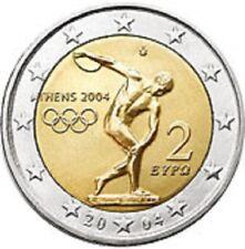 """GRIEKENLAND SPECIALE 2 EURO 2004  """"OLYMPISCHE SPELEN"""""""