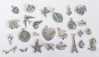 52PCS Mixed Lots of Tibetan Silver Metal Charms