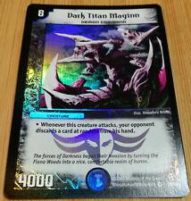 Dark Titan Maginn 26/55 - Duel Masters DM02 - Very Rare HOLO -Englisch- Mint