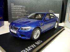 1:18 Paragon BMW M5 F10 monte carlo blue Dealer Edition NEW