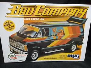 2015 MPC  842 BAD COMPANY 2 n1 stock or custom 1982 DODGE VAN model kit new