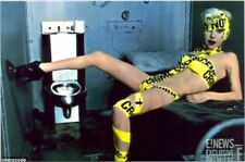 LADY GAGA - CRIMINAL TAPE IS HER OUTFIT OF CHOICE ????