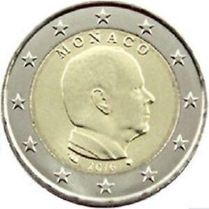 MONACO 2016 2 EURO COMMEMORATIVE PRINCE ALBERT
