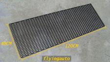UNIVERSAL HONEYCOMB ABS PLASTIC BLACK MESH GRILL 120 X 40 CM