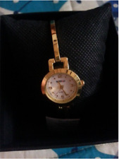 Stainless Steel Gold Watches With Box (White)
