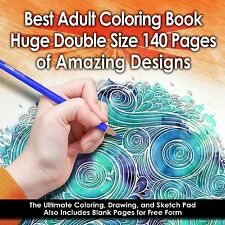 Best Adult Coloring Book - 140 Pages (Double Size) - Amazing Designs