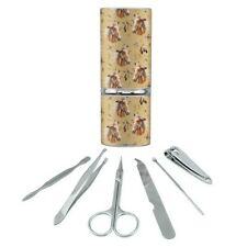 Palamino Horse Selfie Pattern Manicure Pedicure Grooming Beauty Care Travel Kit