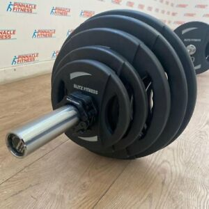 Black Rubber Coated Weight Plate