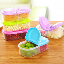 Transparent Plastic Fresh Fridge Storage Box Food Container Crisper Box