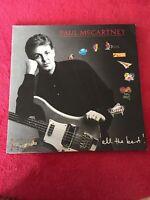 Paul McCartney /All The Best! UK 1987  excellent double LP vinyl Pro Clean