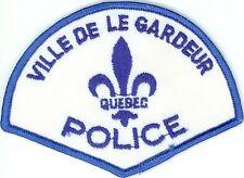 Ville de le Gardeur Police, Quebec, Canada Vintage Uniform/Shoulder Patch