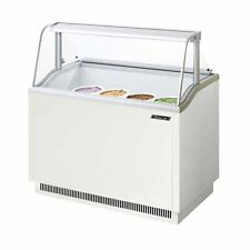 Turbo Air TIDC-47W, 47-inch Ice Cream Dipping Cabinet, White