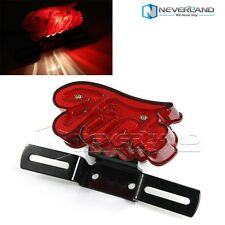 Universal Motorcycle License Plate Rear Tail Brake Stop Light For Harley Chopper