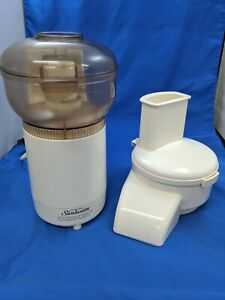 Sunbeam Oskar Food Processor Chopper 500 Watts Made in France Tested & Works