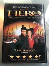 Hero (Dvd, 2004) Starring Jet Li - Quentin Tarantino presents