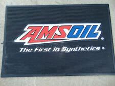 "AMSOIL OIL Logo Rug LARGE Advertising Store Mat Sign Rug 36X23"" New HEAVY DUTY *"