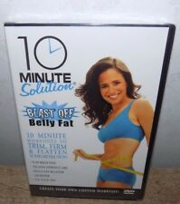 10 Minute Solution: Blast Off Belly Fat (DVD, 2007) BRAND NEW, SEALED