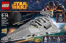 Lego Star Wars 75055-Imperial Star Destroyer with 5 minifigs-Disney-BNISB