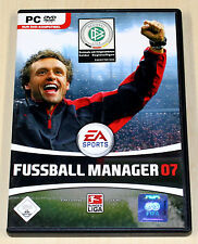 FIFA FUSSBALL MANAGER 07 - PC SPIEL - EA SPORTS 2007
