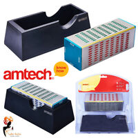 4 Sided Diamond Sharpening Block Knife Chisel Plane Wet Dry Use Amtech E2557