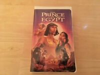 Viewed 1 Time - The Prince of Egypt - VHS Video Tape - Dreamworks 1999
